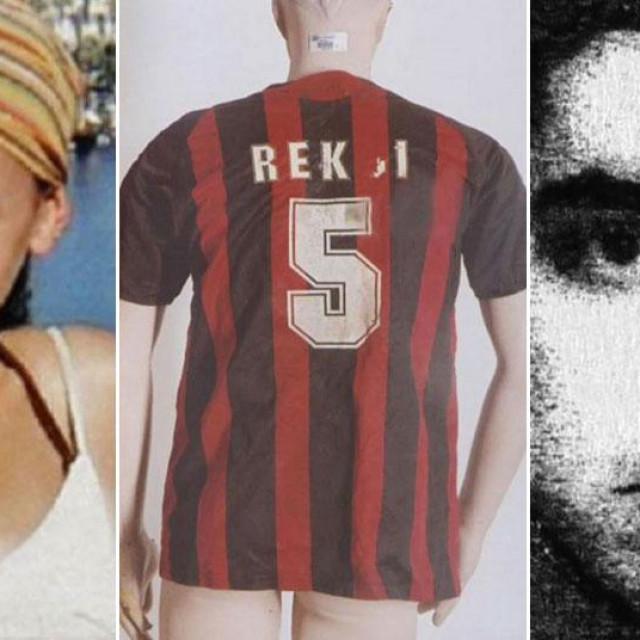 Meksikanka Selena (lijevo), dres pronađen kod mjesta ubojstva (u sredini), Edi Mišić (desno)