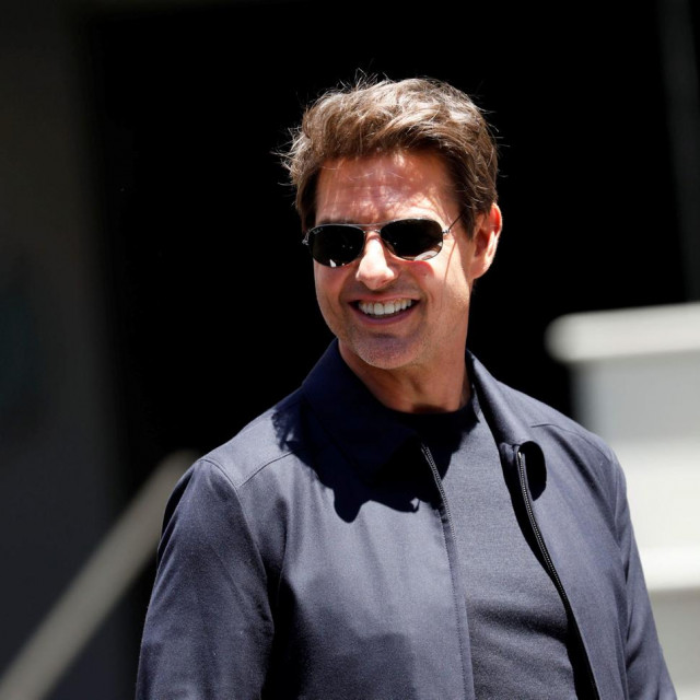"""Actor Tom Cruise attends an event to promote the film """"The Mummy"""" at the Hollywood and Highland gateway in Hollywood, California, May 20, 2017. REUTERS/Patrick T. Fallon"""