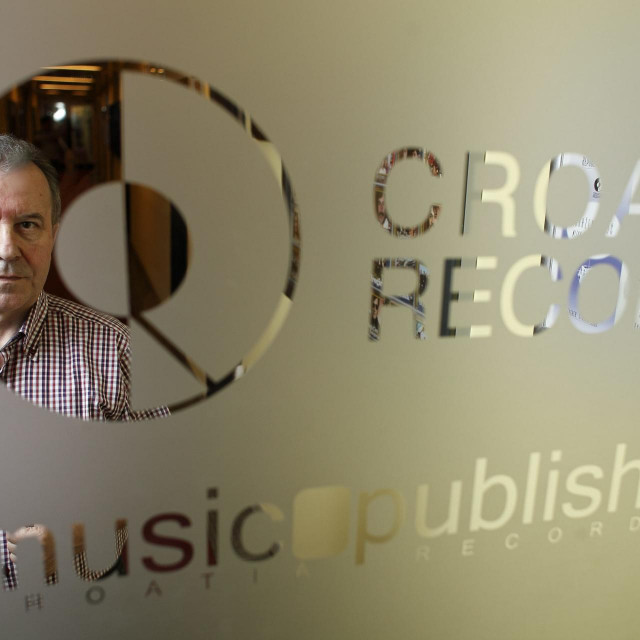 Želimir Babogredac, predsjednik uprave Croatia Recordsa