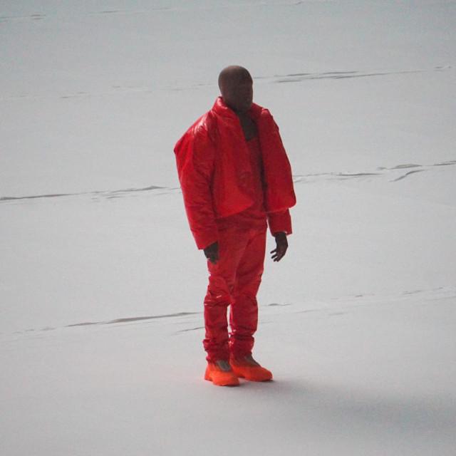 """Kanye West na prvom partyiju preslušavanja """"Donde"""" s publikom na stadionu u Atlanti prije dva tjedna"""