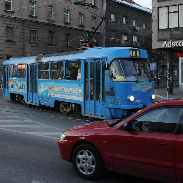 Tramvaj broj 8, arhivska fotografija