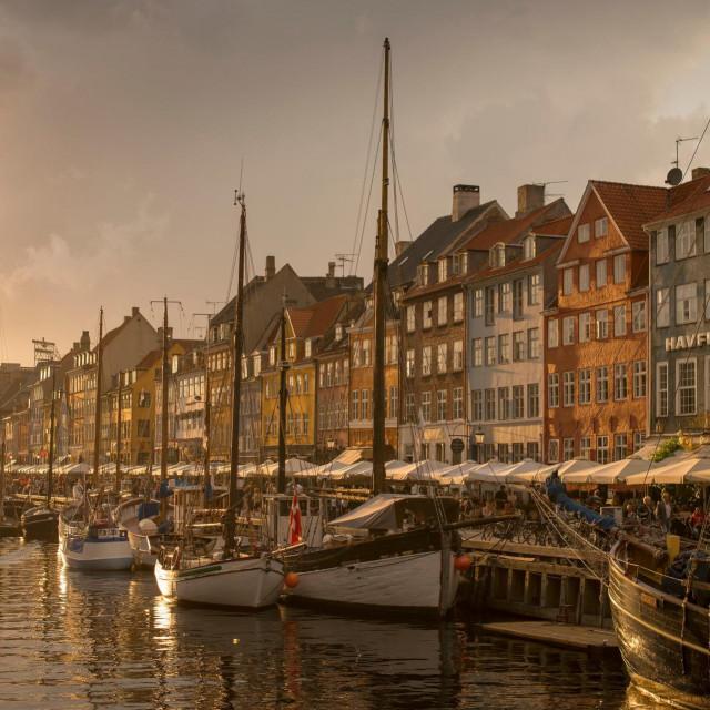 Kopenhagen. ilustracija