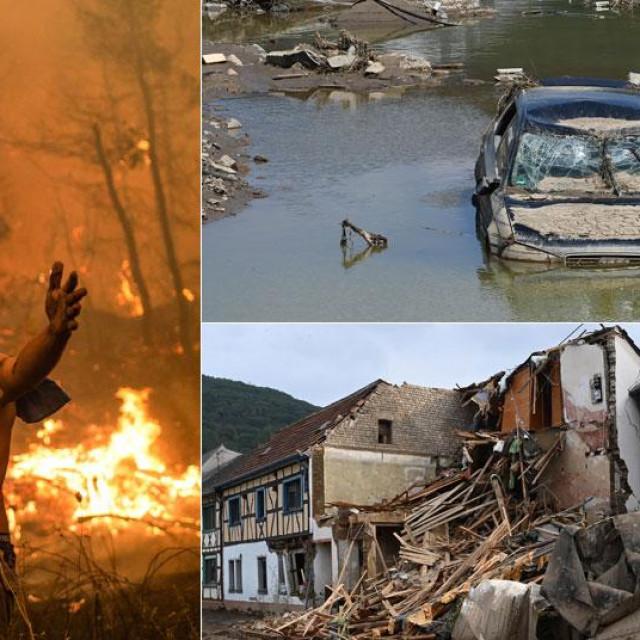 Poplava i požara bit će sve više, navodi se u izvješću