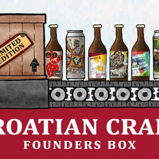 Croatian Founders Craft Beer Box