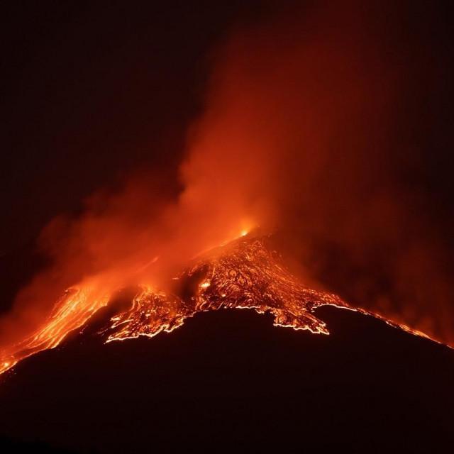 Erupcija vulkana Etne