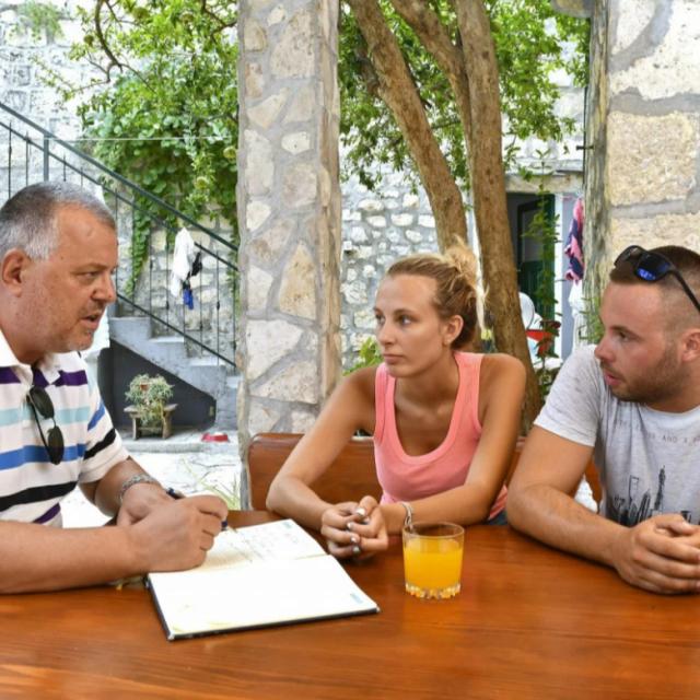 Ana Nikić i Frane Cemović koji su sudjelovali u spašavanju djece u razgovoru s novinarom Slobodne Dalmacije