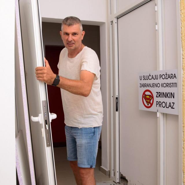 Branko Miodrag, stanar zgrade na Žnjanu koji je u sporu s Tomphsonom