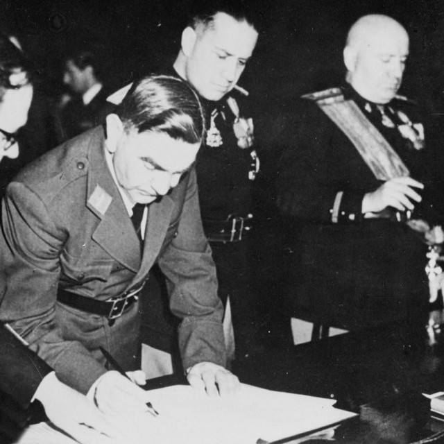 Ante Pavelić i Mussolini