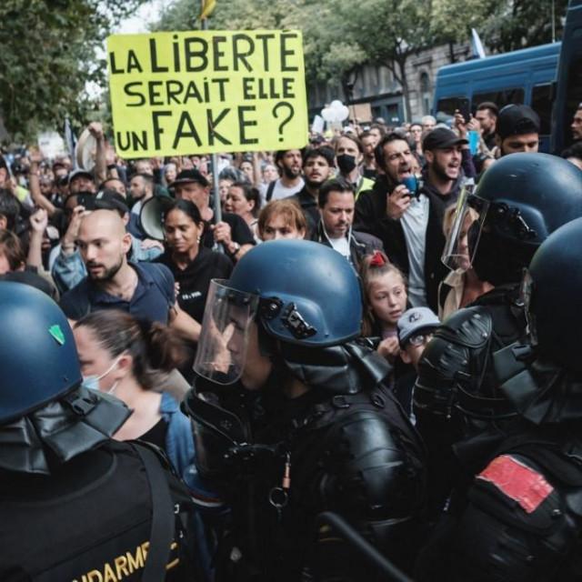 Prosvjed u Parizu