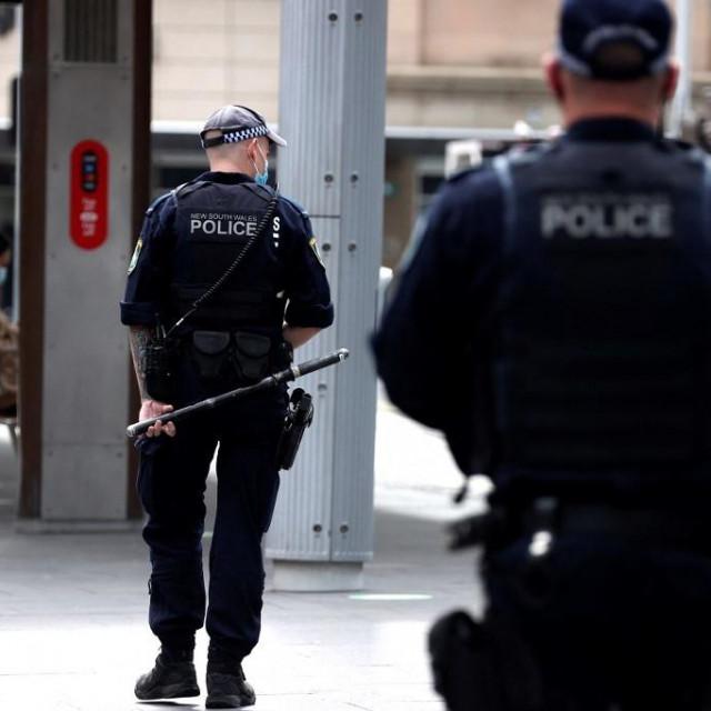Policija na ulicama Sydneya