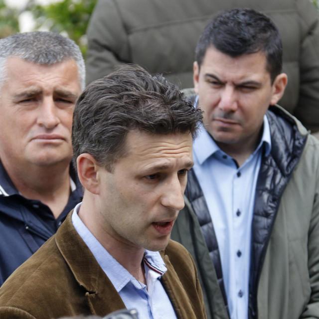 Božo Petrov, Miro Bulj i Nikola Grmoja
