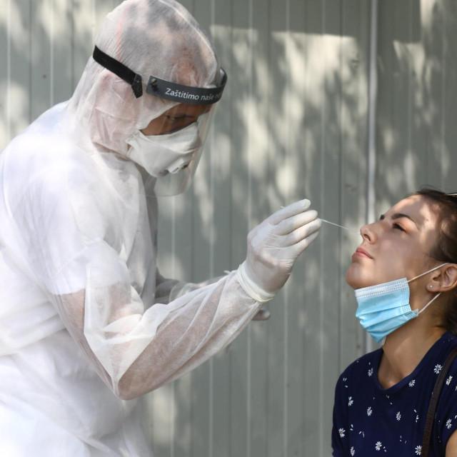 Testiranje na koronavirus, Ilustracija<br /> <br />