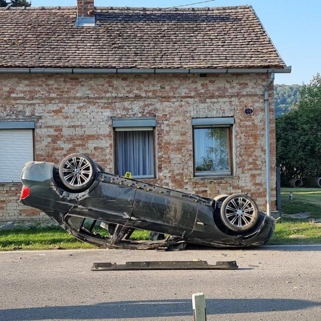 Prometna nesreća kod Pleternice