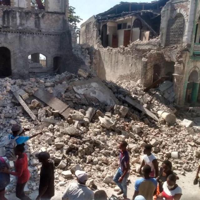 Potres u Haitiju