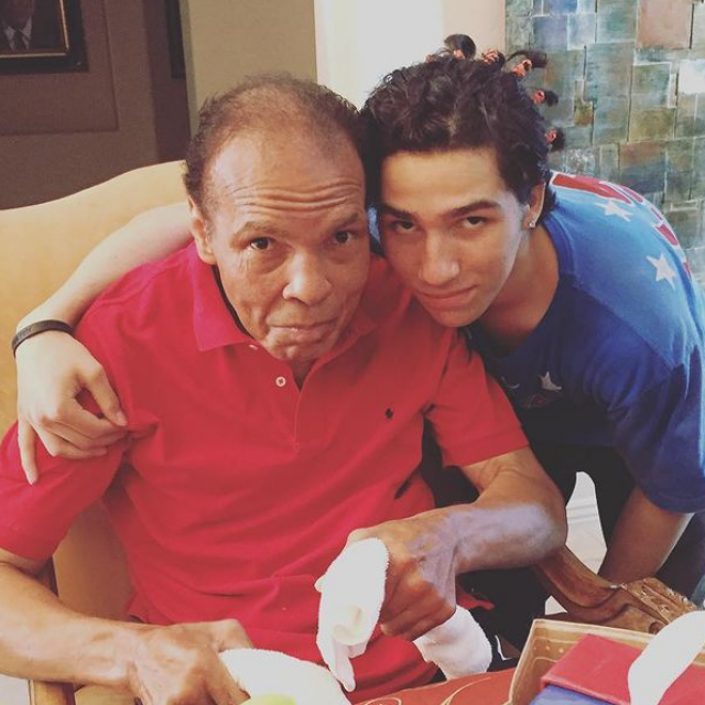 Muhammad Ali i Nico Ali Walsh
