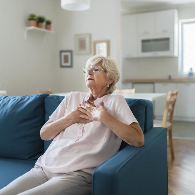 Ako mislite da dobivate srčani udar, hitno potražite liječničku pomoć.