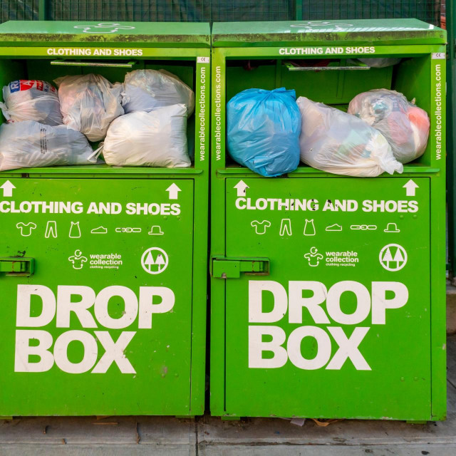 Kanta za reciklirani otpad u New Yorku