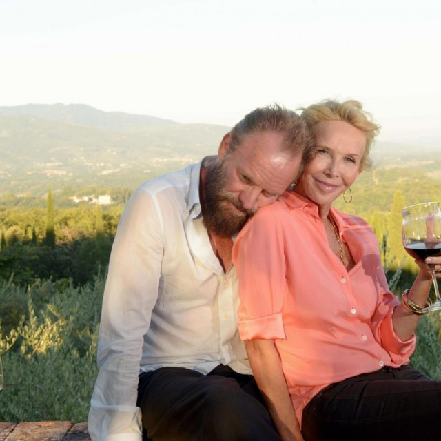 Sting i supruga Trudy Styler