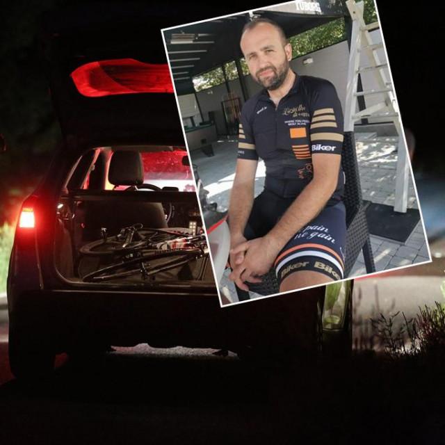 Posljednja fotografija koju je stradali biciklist poslao prijateljima s ture na Sljemenu