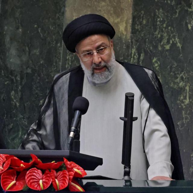 Nedavno izabrani novi predsjednik Irana Ebrahim Raisi