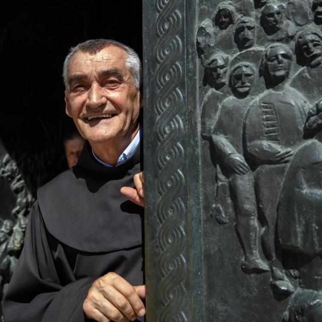 Fra Ante Čovo, gvardijan samostana Gospe sinjske
