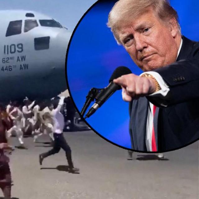 Donald Trump (u krugu)