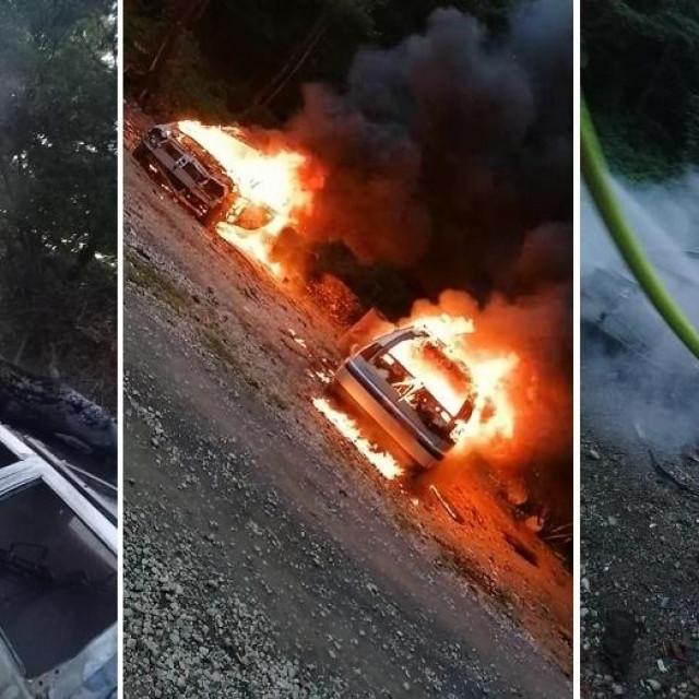 Čovjek zapalio aute kako bi istjerao žohare