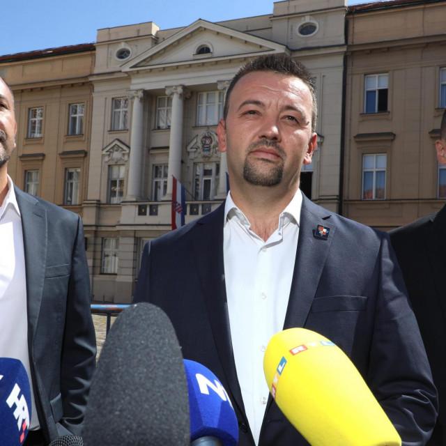 Marijan Pavliček, Hrvoje Zekanović, Frano Čirko<br />