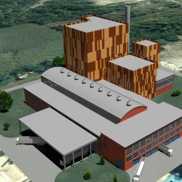 Energana za neopasni otpad i biomasu Sisak