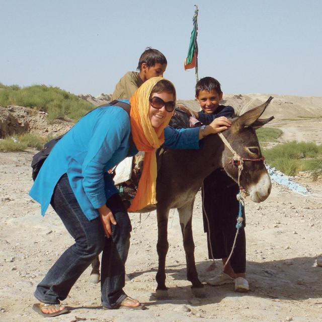 Ivana Stipić Lah u Kabulu je lokalne novinare poučavala novinarskom izvještavanju