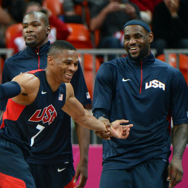 Russell Westbrook i LeBron James