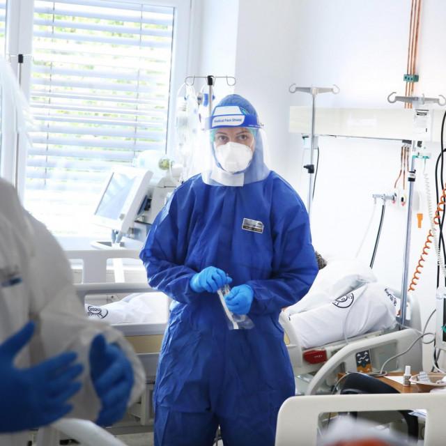 COVID odjel na infektologiji bolnice Križine