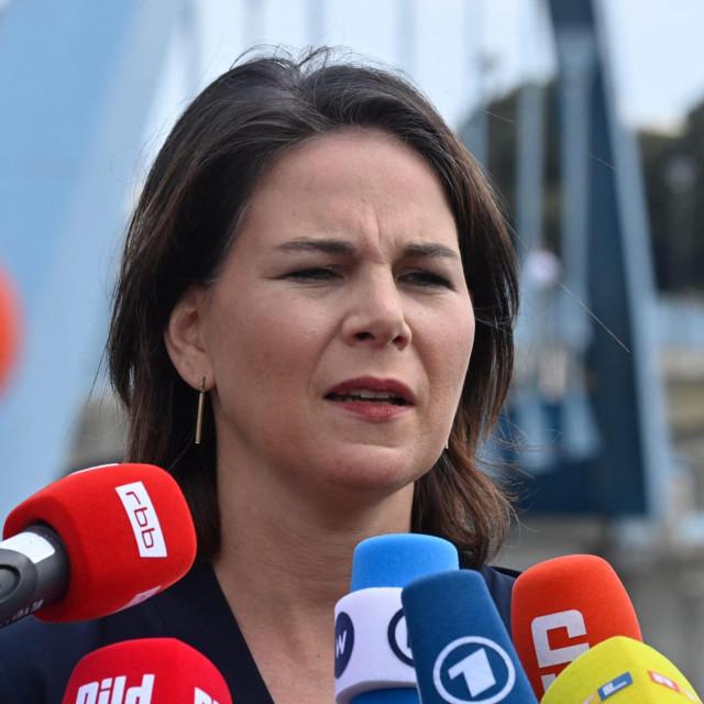 Annalena Baerbock, čelnica njemačkih Zelenih i kandidatkinja njezine stranke za kancelarku