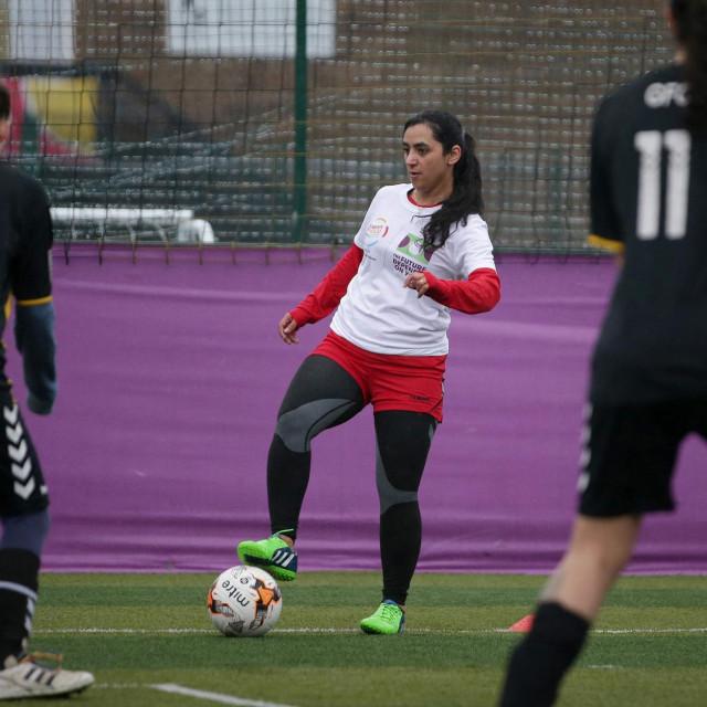 Bivša kapetanica afganistanske ženske nogometne reprezentacije Khalida Popal
