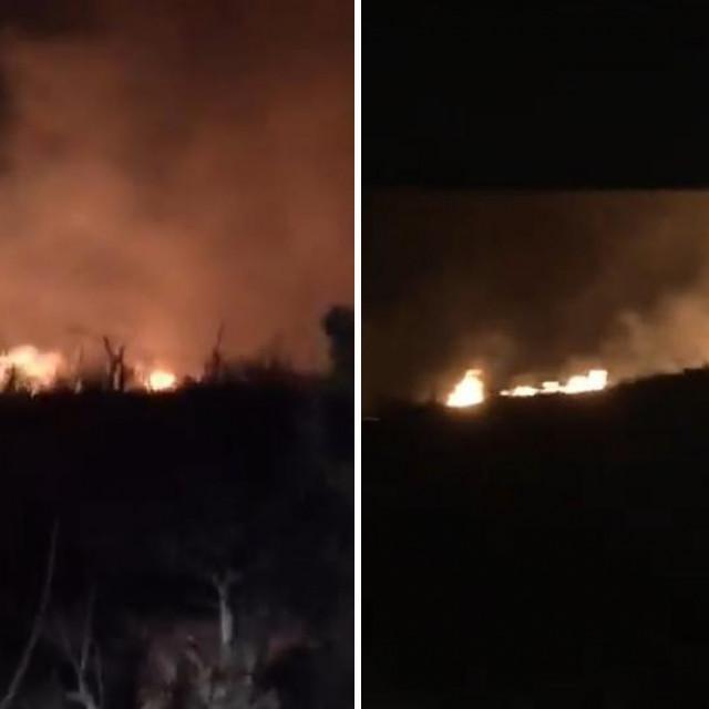 Požar na otoku Hvaru