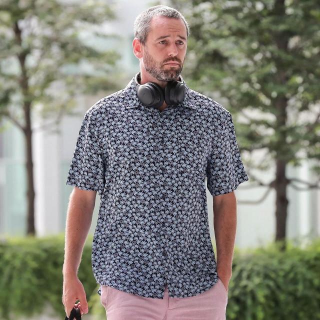 Britanski državljanin Benjamin Glynn stiže u Singapur