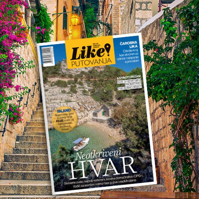 Novi broj magazina Like! Putovanja