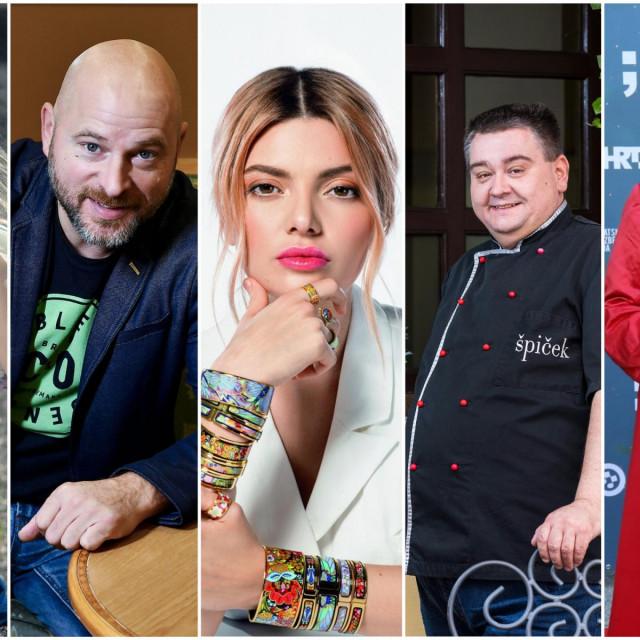 Domenica Žuvela, Rene Bitorajac, Ella Dvornik-Pearce, Tomislav Špiček i Tereza Kesovija