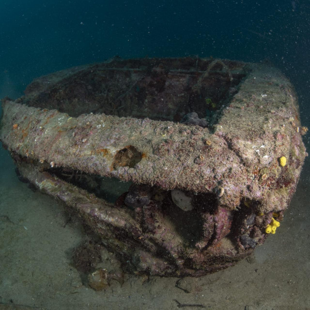 Alfa Romeo u podmorju