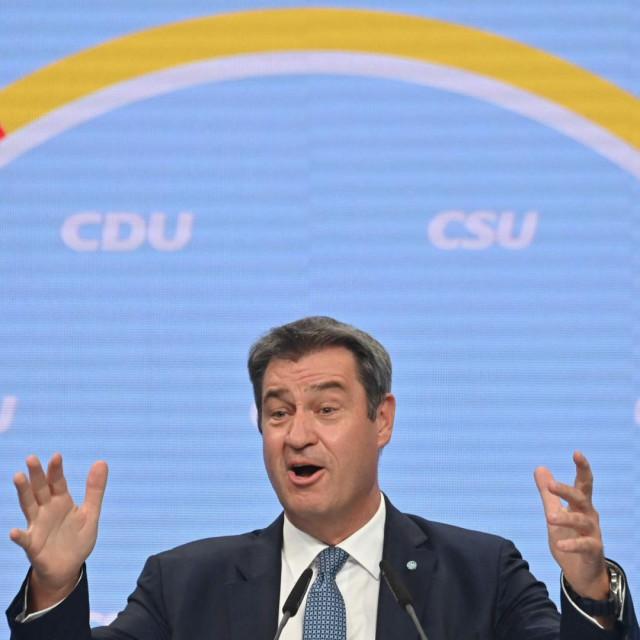 bavarski premijer i lider CSU-a Markus Söder