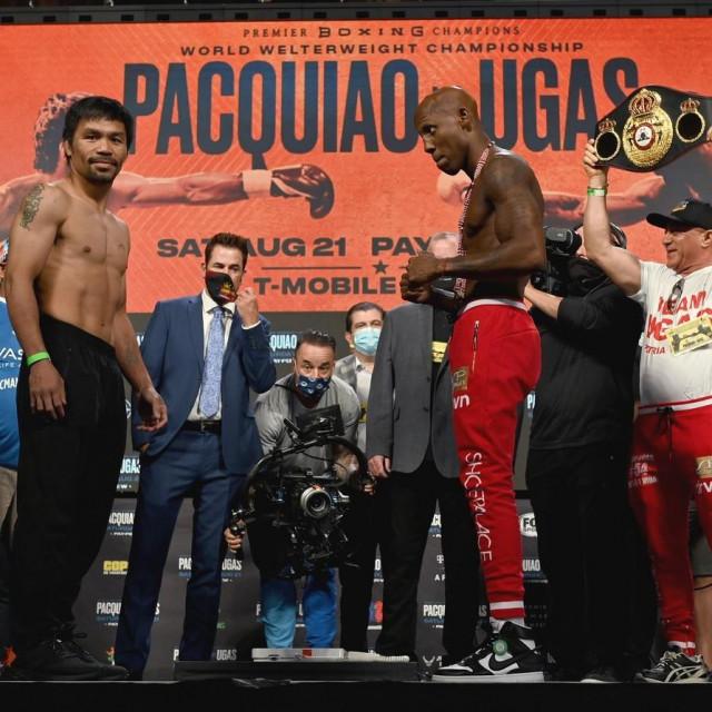 Manny Pacquiao vs. Yordenis Ugas<br />