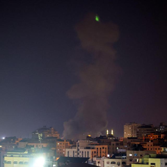 Izrael je napao uporišta Hamasa u Gazi