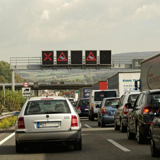 Prometna gužva u Njemačkoj