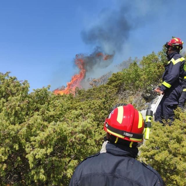Požar na Biokovu