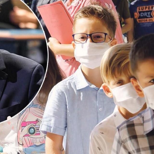 Tamo gdje se miješaju djeca iz različitih razreda maske će i nadolazeće školske godine biti obavezne, Radovan Fuchs (u krugu)