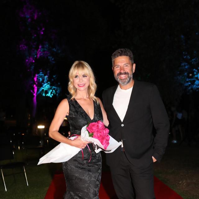 Mila Elegović i Ronald Braus.