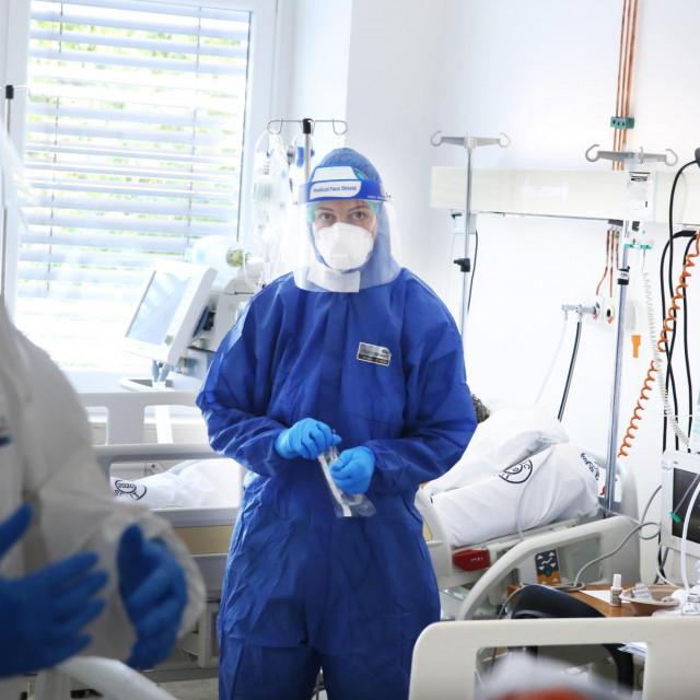 COVID odjel na infektologiji bolnice Krizine.