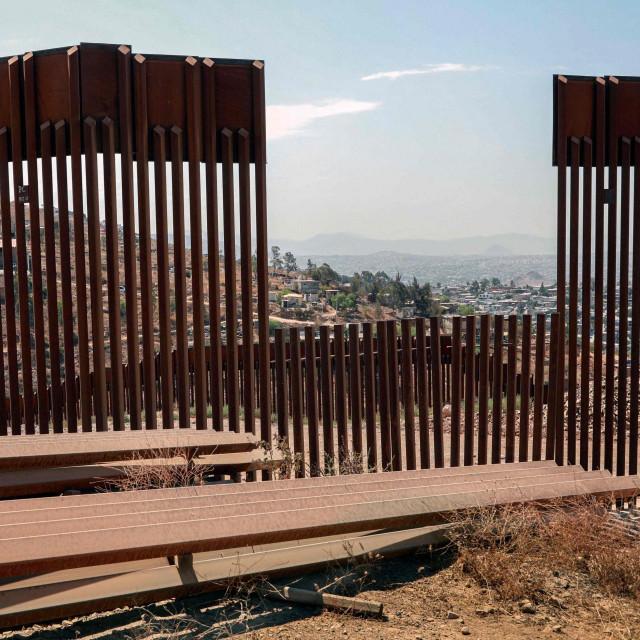 Zid na južnoj granici SAD-a, arhivska fotografija