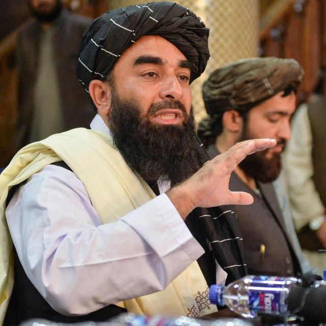 Glasnogovornik talibana Zabihullah Mujahid