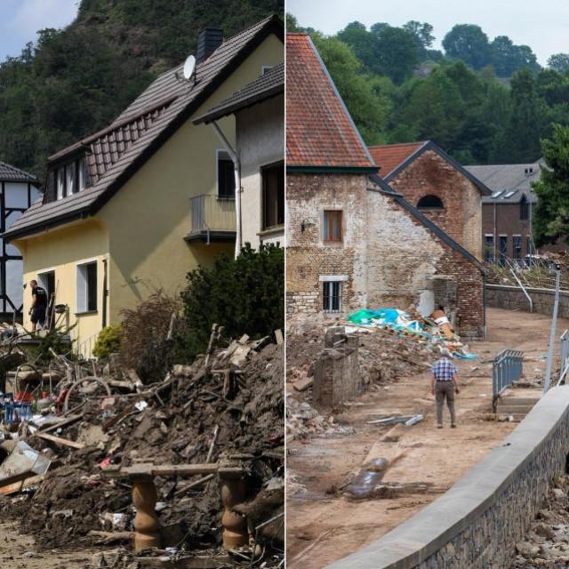 Njemačka nakon poplava, 2021.